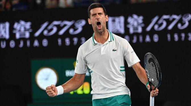 Djokovic empata el récord de Federer durante la mayoría de las semanas como número 1 del mundo