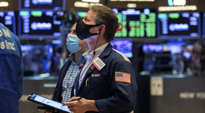 Acciones estadounidenses recortan pérdidas tras declaración de la Fed