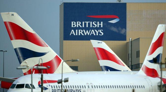 British Airways considera vender su sede después del cambio al homeoffice