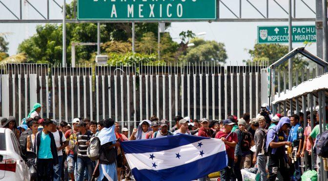 Gobierno de México declara que aplicará restricciones de viaje en la frontera sur a causa del Covid-19