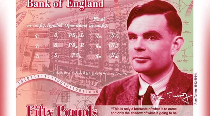 Alan Turing aparecerá en el billete de 50 libras