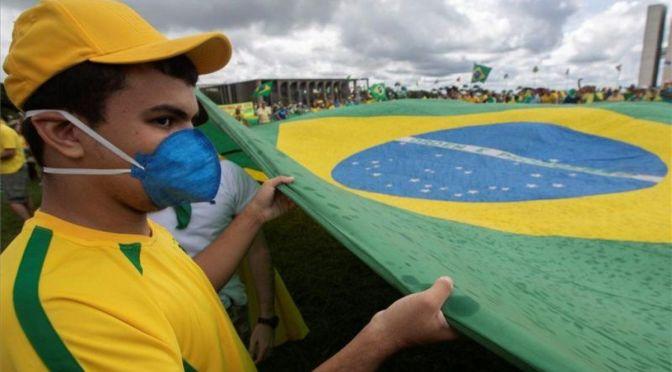 Brasil rosa las 4,000 muertes por Covid-19 en 24 horas