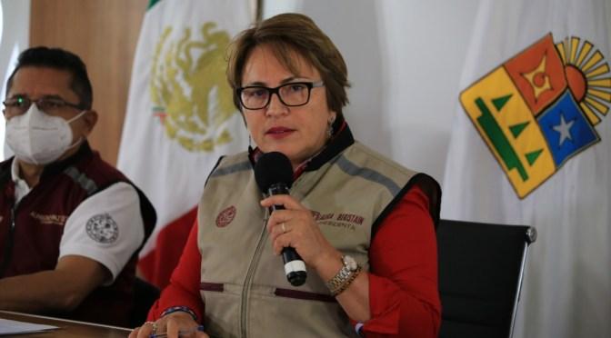 Laura Beristain denuncia a Aguakan por daño ambiental en Solidaridad