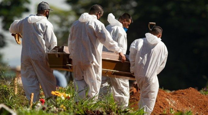 Brasil registra nuevo récord de 3,650 nuevas muertes por COVID-19 en 24 horas
