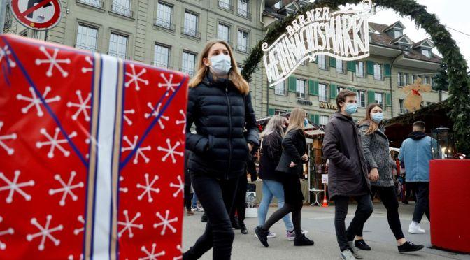 Suiza pospone planes para levantar restricciones de COVID-19