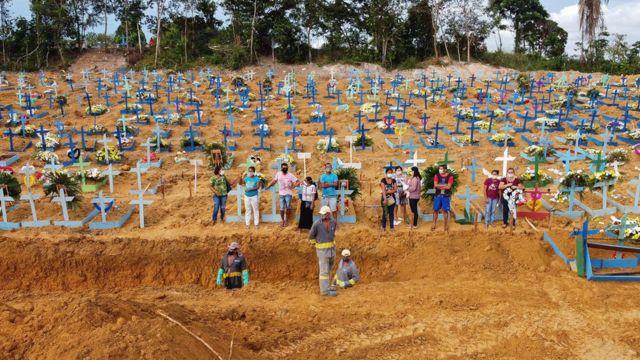 Abril se destaca como el peor mes de la pandemia para Brasil