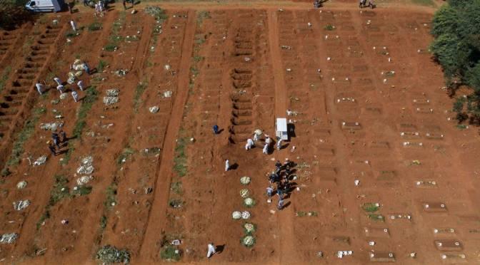 Brasil roza los 13 millones de casos de COVID-19