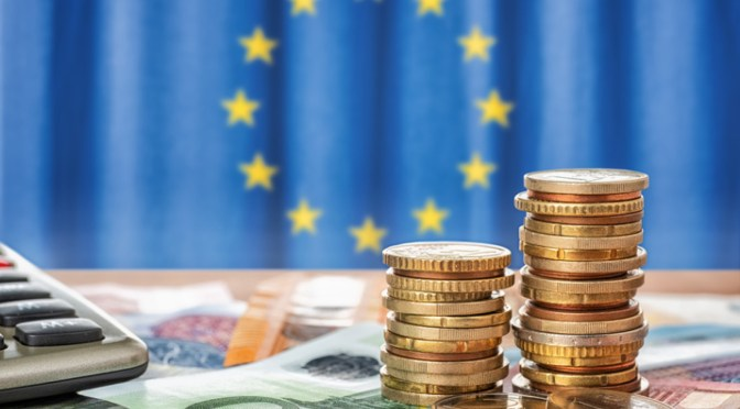 Rendimientos de los bonos de la zona del euro cayeron al inicio de la semana