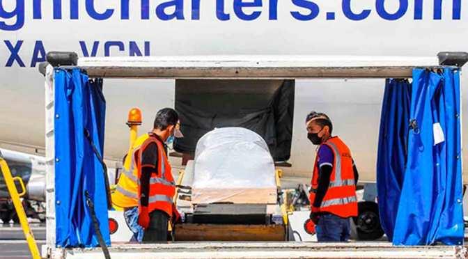 Trasladan a El Salvador restos de mujer asesinada por policías en Tulum