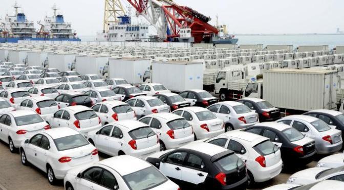 Exportación de autos tienen sus peores números en los últimos  cinco años