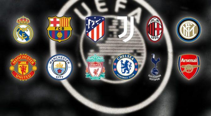 Acciones de clubes europeos suben después del anuncio de la Superliga