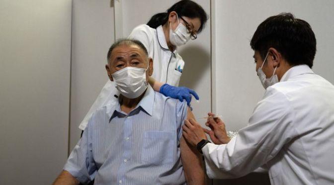 Japón abre centros de vacunación a 2 meses de los Juegos Olímpicos