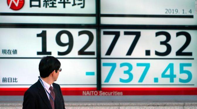 Acciones japonesas caen por preocupaciones pandémicas