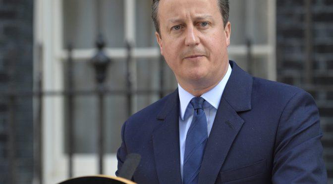 Ex Primer Ministro David Cameron presionó a ministros para hacerse con la empresa financiera Greensill en 2020