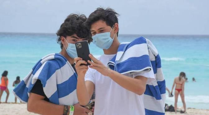 Quintana Roo afrontan una tercera ola de Covid-19 en México