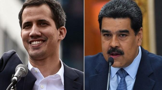 Maduro se dice dispuesto a dialogar con Guaidó