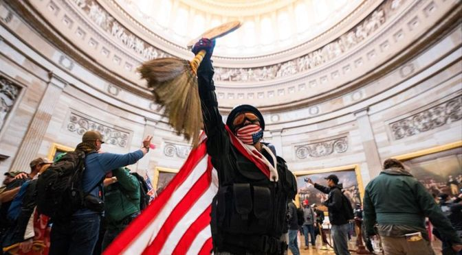 Asalto al Capitolio podría repetirse: Cheney