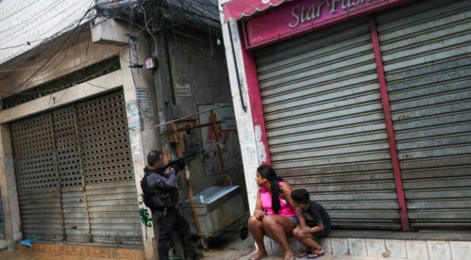 Número de muertes por tiroteos en Río de Janeiro aumenta a 28