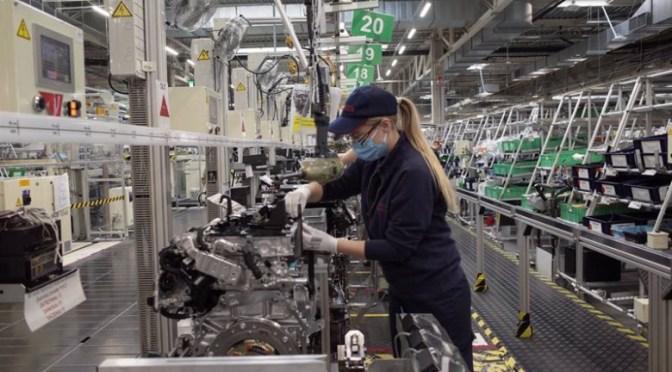 Crecimiento de actividad en fábricas de la zona euro alcanza máximo histórico el mes pasado