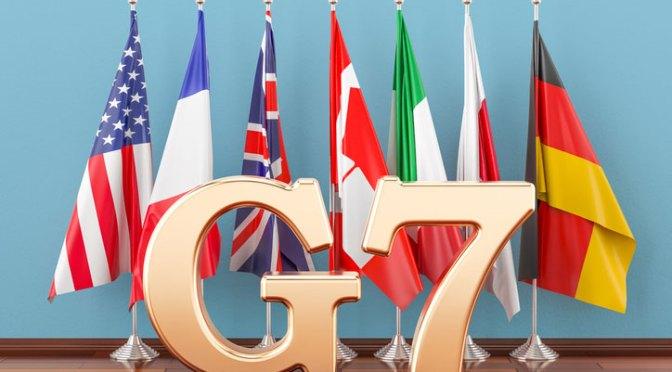 G7 está cerca de un acuerdo sobre el impuesto para las sociedades multinacionales más grandes del mundo