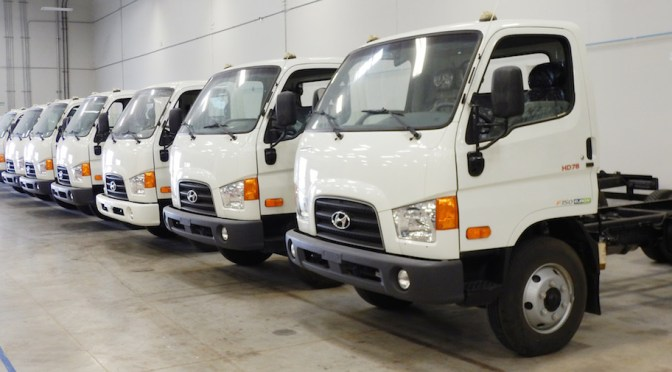 Hyundai plantea enviar nueva serie de camiones de pila de combustible a Europa a finales de este año
