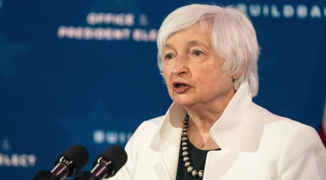 Janet Yellen asistirá a la reunión de ministros de finanzas del G7