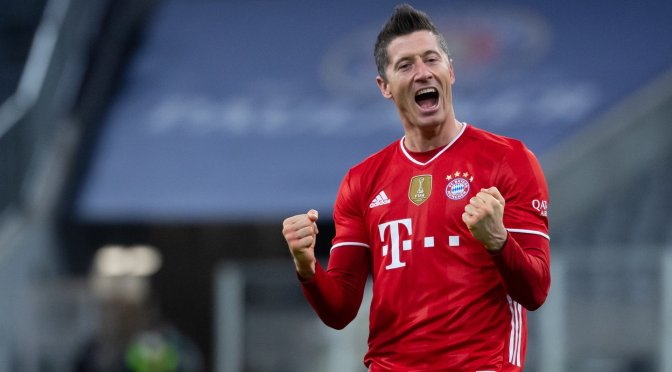 Lewandowski rompe récord de goles en la Bundesliga