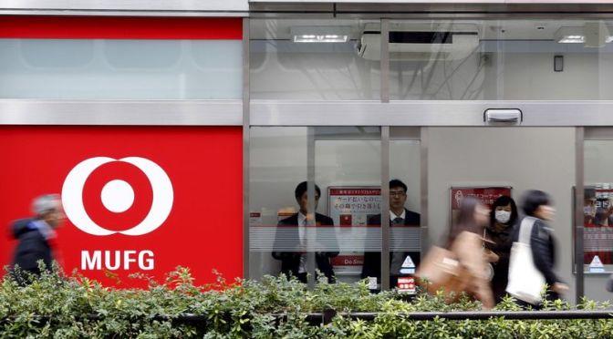 Principal banco de Japón, MUFG supera la perspectiva de ganancias