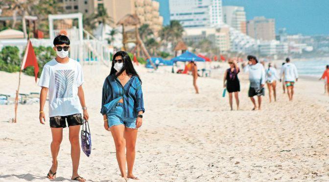 Quintana Roo en riesgo de regresar a cuarentena