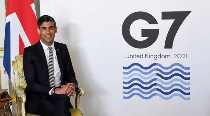 Reino Unido presiona para que los servicios financieros estén exentos del plan tributario global del G7