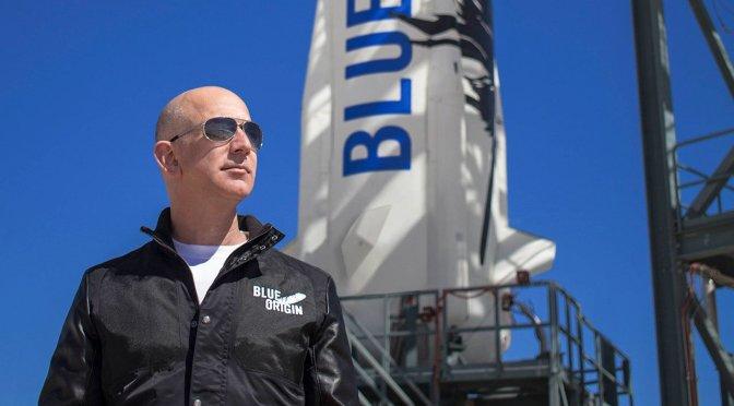 Blue Origin subasta un viaje en cohete al espacio con Jeff Bezos