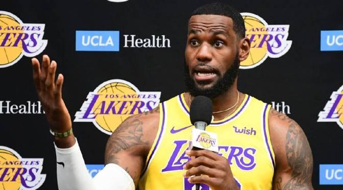 LeBron James lamenta que lesiones propiciaran eliminación de Lakers en primera ronda