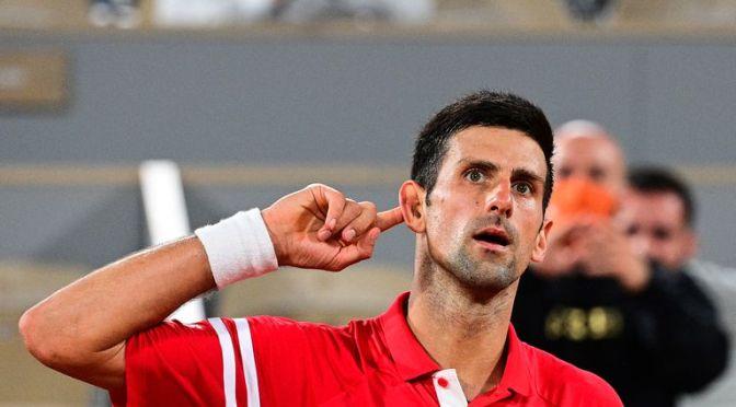 Djokovic regresa a Wimbledon con control absoluto en el juego masculino
