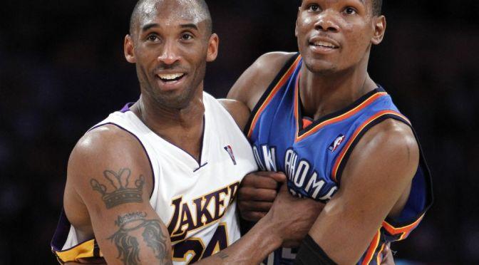 Kevin Durant dice que equipo de basquetbol de EU honrará a Kobe Bryant en Tokio