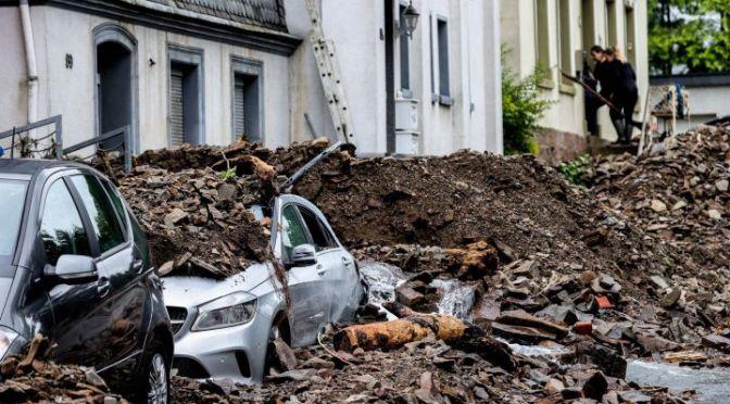 Número de muertos aumenta a 157 en las inundaciones de Alemania y Bélgica