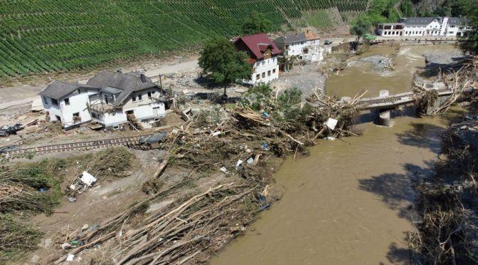 Alemania defiende preparación a inundaciones tras desastre