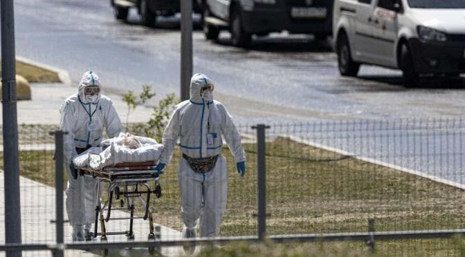 Rusia reporta sus quinto Récord consecutivo de muertes diarias por COVID