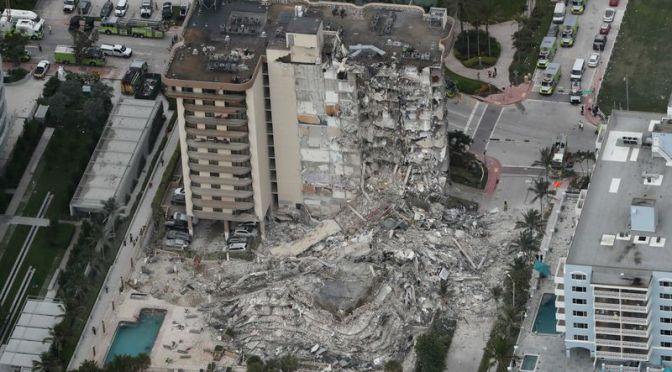 Concluye la búsqueda de sobrevivientes en torre de Florida