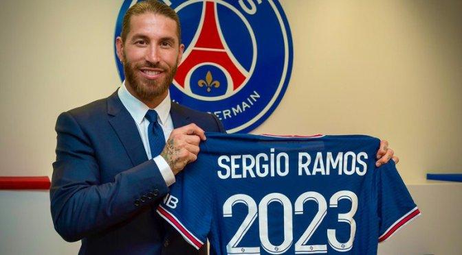 PSG hace oficial la llegada de Sergio Ramos