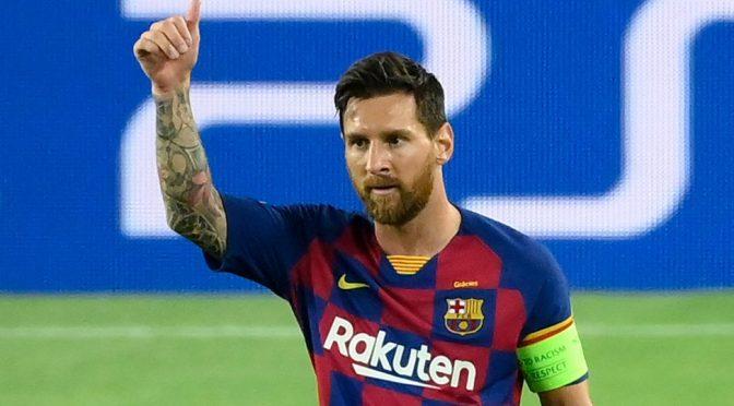 Messi llega a un nuevo acuerdo de cinco años con el Barcelona