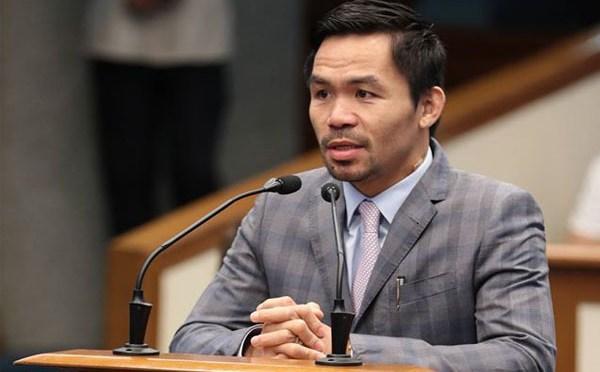 Pacquiao es elegido líder del partido gobernante de Filipinas