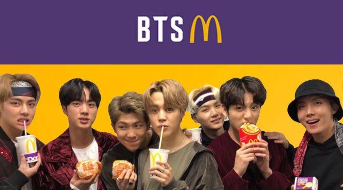 ventas de McDonald's aumentan en la locura de la comida de BTS