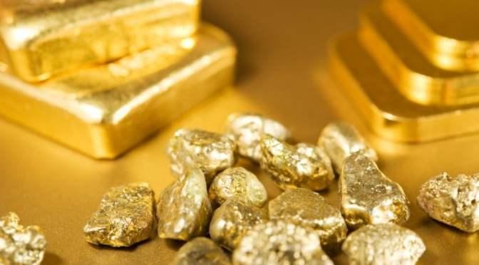 Precios del oro caen a medida que los rendimientos se intensifican