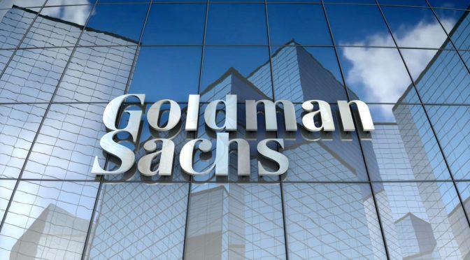 Ganancias de Goldman Sachs se disparan en el frenesí global de negociación