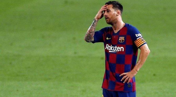 Hay que estar preocupado con Messi: Koeman