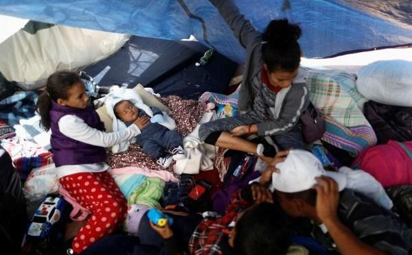 Empeora situación en campamentos de frontera norte de México