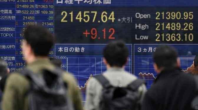 Para el olvido, Nikkei tiene sus peores números de 6 meses en medio
