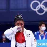 Se acabo el sueño de 6 medallas para Simone Biles