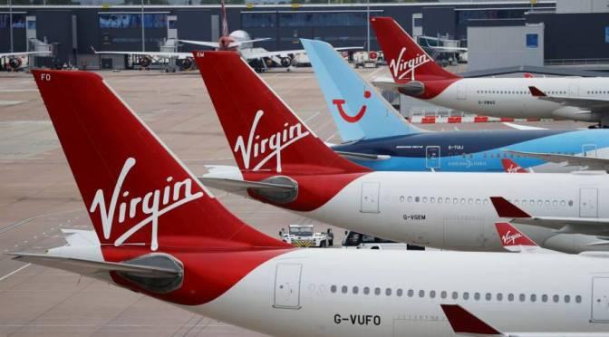 Recuperación de viajes es clave para el plan de salida a bolsa de Virgin Atlantic