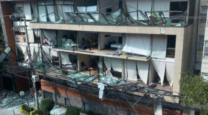 Explosión en Avenida Coyoacán deja un muerto y 29 heridos
